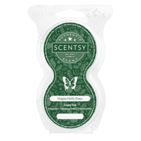 HAPPY HOLLY DAYS SCENTSY PODS
