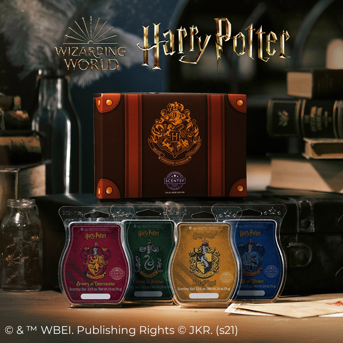 HARRY POTTER HOUSES WAX COLLECTION