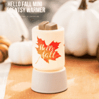 HELLO FALL NIGHTLIGHT MINI SCENTSY WARMER
