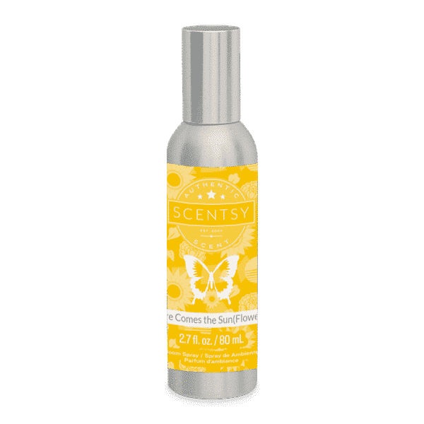 HERE COMES THE SUN(FLOWERS) SCENTSY ROOM SPRAY