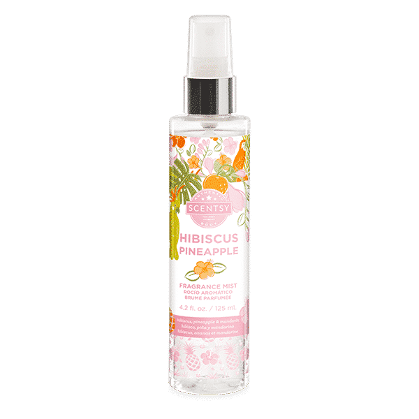 HIBISCUS PINEAPPLE SCENTSY BODY MIST