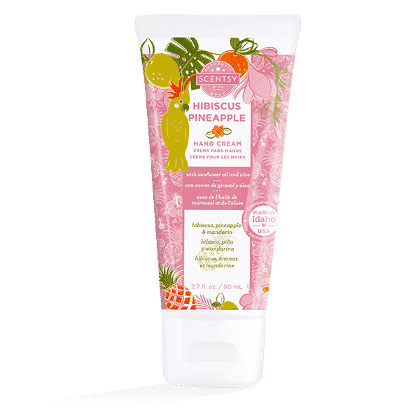 HIBISCUS PINEAPPLE SCENTSY HAND CREAM