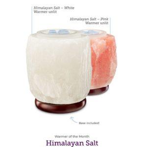 HIMALAYAN SALT WARMER PINK WHITE UNLIT