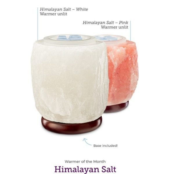HIMALAYAN SALT WARMER PINK UNLIT | HIMALAYAN SALT WHITE SCENTSY WARMER | JANUARY 2020 | Shop Scentsy | Incandescent.Scentsy.us