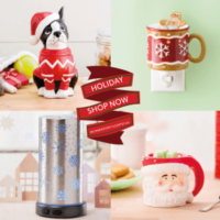 SCENTSY HOLIDAY 2018 WARMERS
