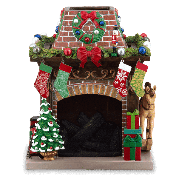 HOLIDAY HEARTH SCENTSY WARMER 2020