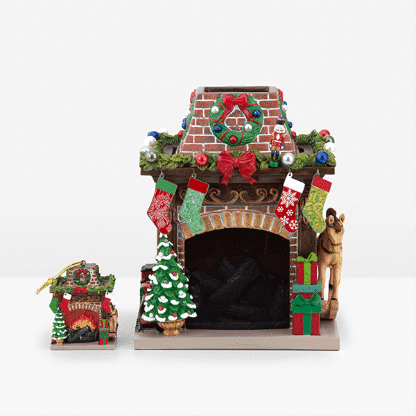 HOLIDAY HEARTH SCENTSY WARMER OFF | HOLIDAY HEARTH FIREPLACE SCENTSY WARMER | LIMITED EDITION HOLIDAY | SHOP NOW