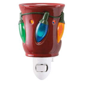 HOLIDAY LIGHTS NIGHTLIGHT MINI SCENTSY WARMER