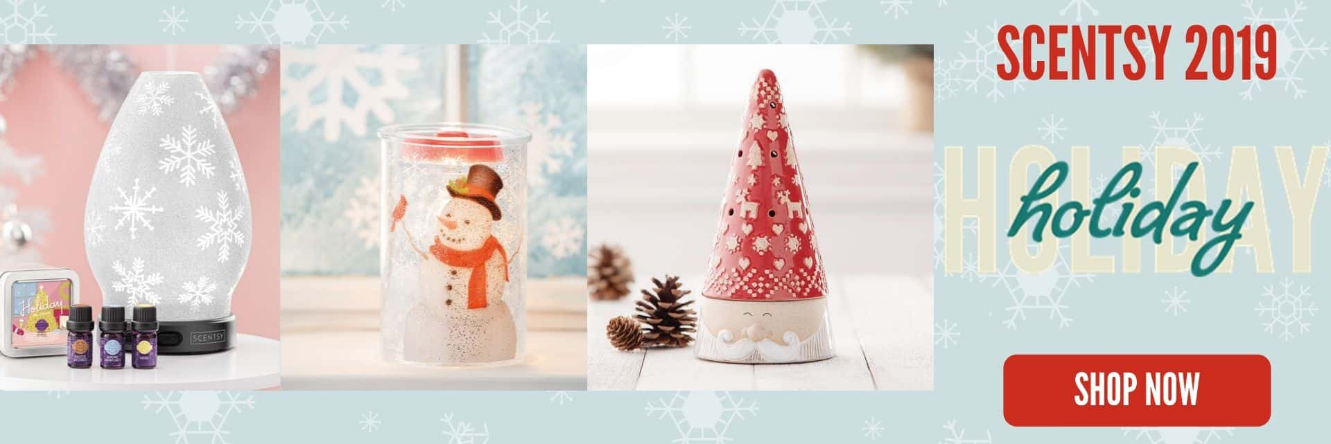 HOLIDAY SCENTSY 2019 COLLECTION SHOP NOW