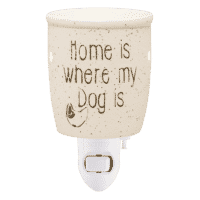 HOME IS WHERE MY DOG IS NIGHTLIGHT MINI SCENTSY WARMER