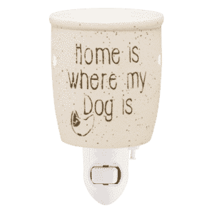 HOME IS WHERE MY DOG IS MINI SCENTSY WARMER | Home Is Where My Dog Is Mini Scentsy Warmer