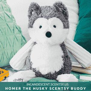 HOMER THE HUSKY SCENTSY BUDDY | NEW! HOMER THE SIBERIAN HUSKY SCENTSY BUDDY IS HERE!