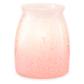 HOPE STRENGTH AND LOVE BREAST CANCER FOUNDATION SCENTSY WARMER
