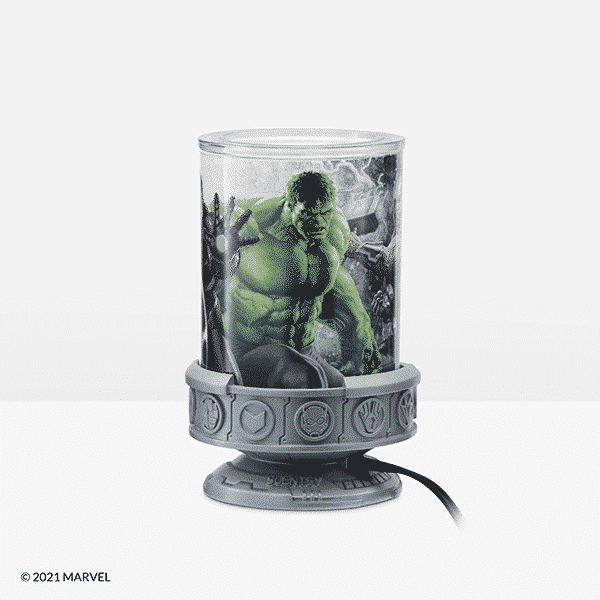 Hulk Scentsy Warmer Side   NEW! MARVEL SCENTSY WARMER   SPRING 2021   Incandescent.Scentsy.us