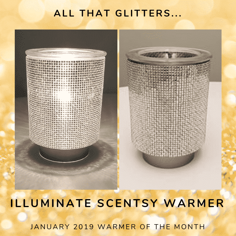 ILLUMINATE SCENTSY WARMER JANUARY 2019
