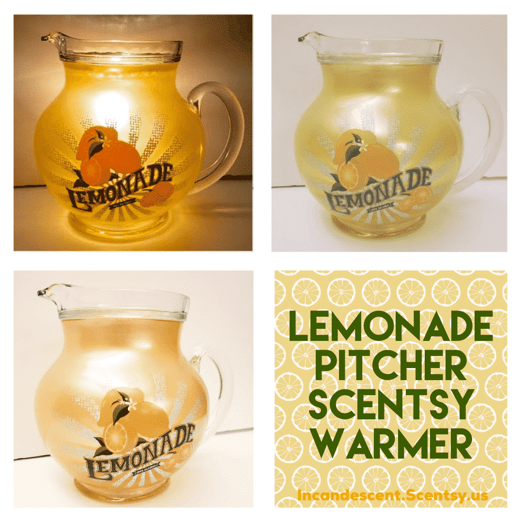 LEMONADE PITCHER SCENTSY WARMER JUNE 2019