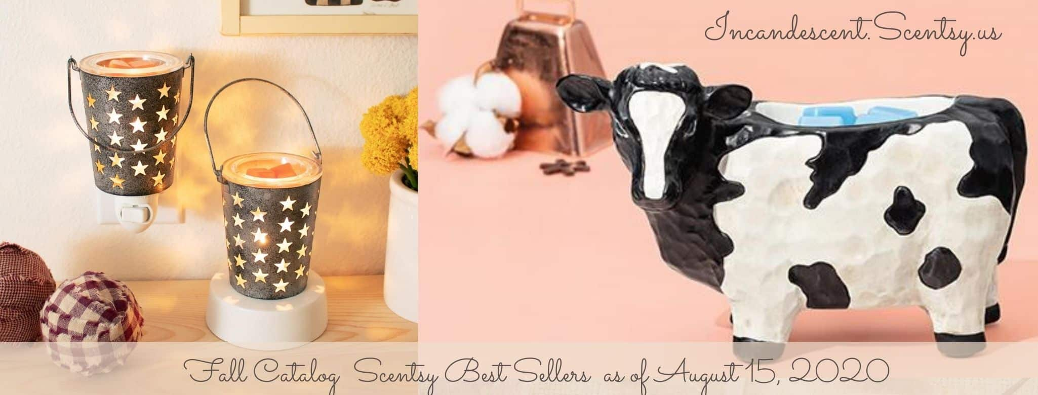 INCANDESCENT SCENTSY FALL BEST SELLERS 2020