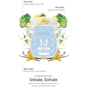 INHALE EXHALE SCENTSY FRAGRANCE