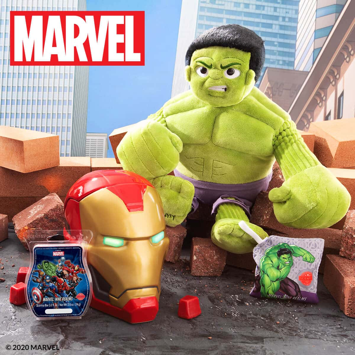 MARVEL: SPIDER-MAN & IRON MAN SCENTSY WARMERS, HULK SCENTSY BUDDY | SHOP NOW