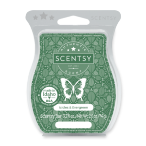 Icicles Evergreen Scentsy Bar
