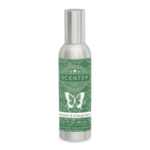 Icicles Evergreen Scentsy Room Spray
