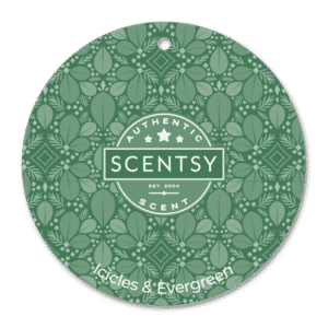 Icicles Evergreen Scentsy Scent Circle