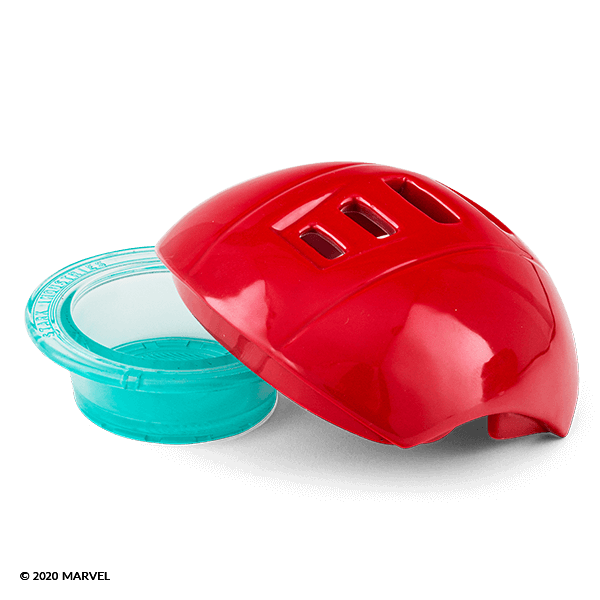 Iron Man Scentsy Warmer Dish Lid Only | Iron Warmer - Scentsy Warmer Dish & Lid Only