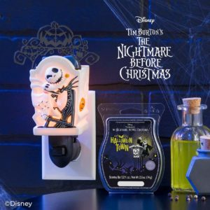 JACK SKELLINGTON MINI SCENTSY WARMER 1