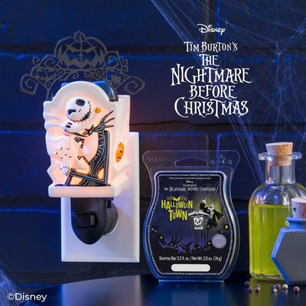 JACK SKELLINGTON MINI SCENTSY WARMER