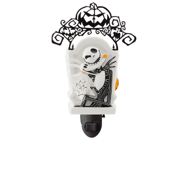 JACK SKELLINGTON PUMPKIN KING MINI SCENTSY WARMER OFF