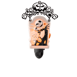 JACK SKELLINGTONS MINI SCENTSY WARMER GLOW