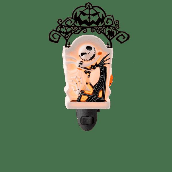 JACK SKELLINGTONS MINI SCENTSY WARMER GLOW | Jack Skellington Mini Scentsy Warmer | Nightmare Before Christmas