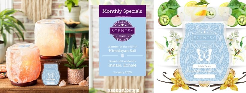 JANUARY 2020 WARMER & SCENT Incandescent.Scentsy.us