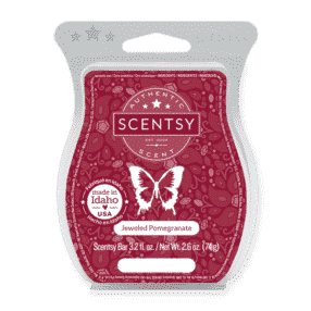 JEWELED POMEGRANATE SCENTSY BAR