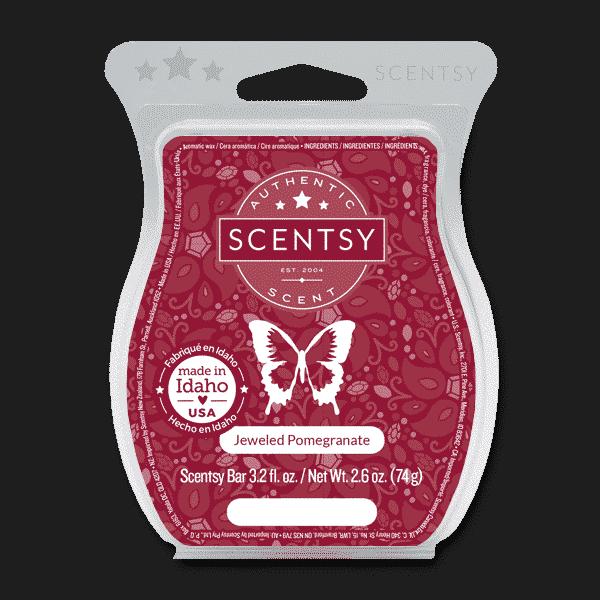 JEWELED POMEGRANATE SCENTSY BAR | Jeweled Pomegranate Scentsy Bar
