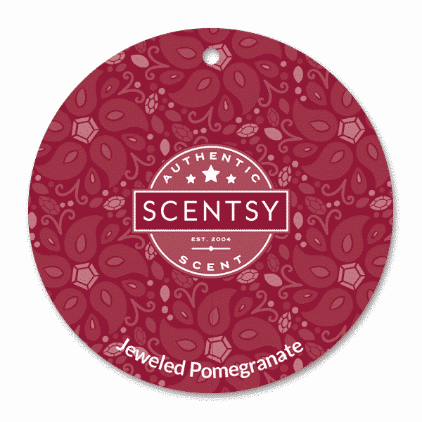JEWELED POMEGRANATE SCENTSY SCENT CIRCLE