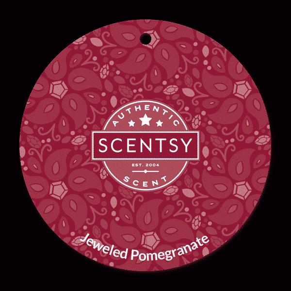 JEWELED POMEGRANATE SCENTSY SCENT CIRCLE | Jeweled Pomegranate Scentsy Scent Circle