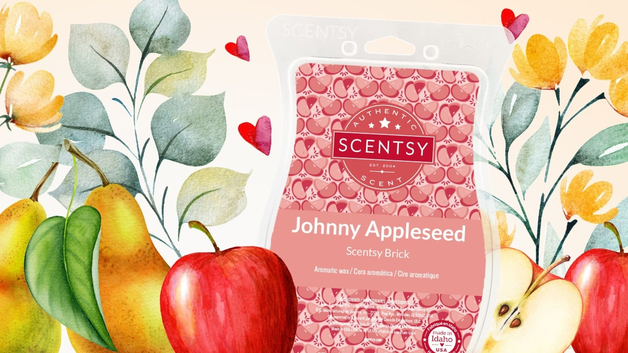 JOHNNY APPLESEED SCENTSY BRICK