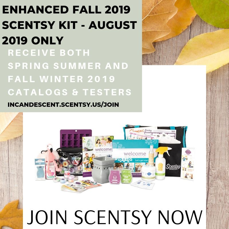 JOIN SCENTSY FALL 2019 AUGUST 2019 DOUBLE KIT