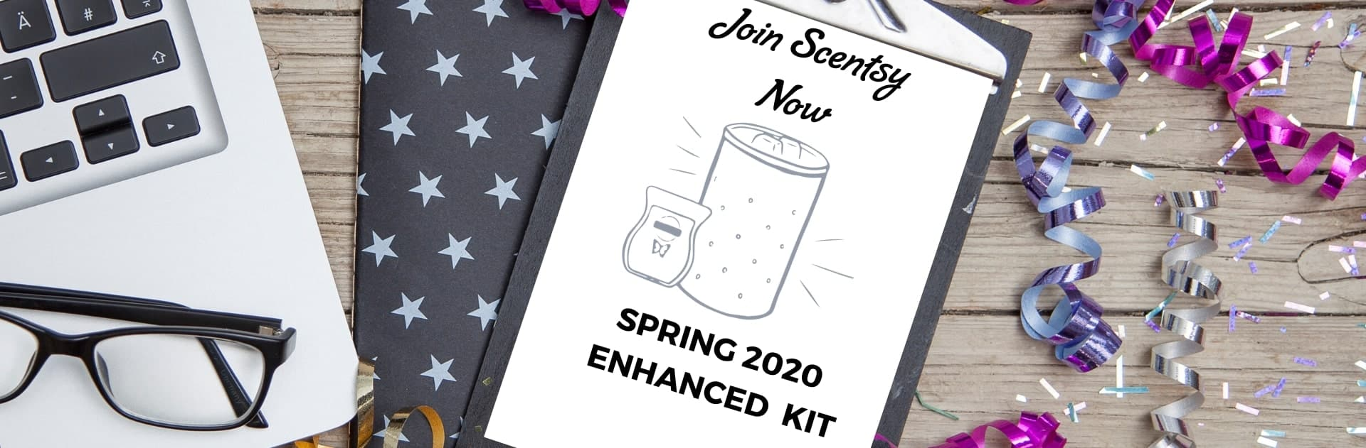 JOIN SCENTSY NOW SPRING 2020 KIT