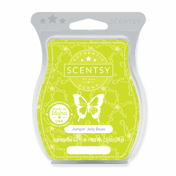 JUMPIN JELLY BEAN SCENTSY BAR 1