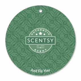 JUST FIR YOU SCENTSY SCENT CIRCLE