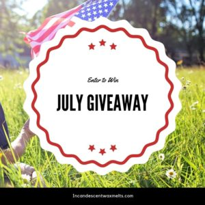 SCENTSY JULY 2019 GIVEAWAY INCANDESCENT