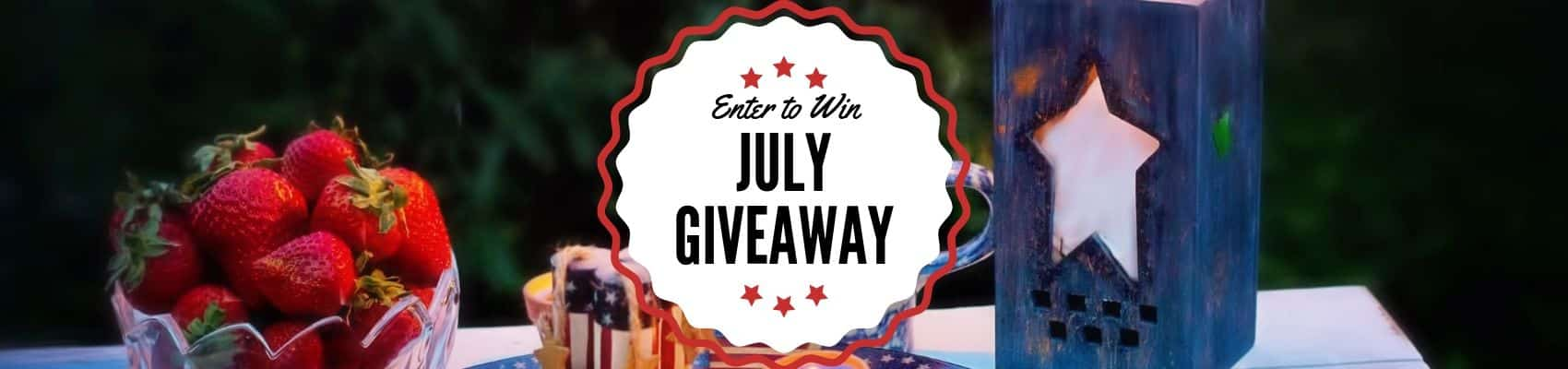 SCENTSY JULY 2019 GIVEAWAY INCANDESCENT WAX MELTS
