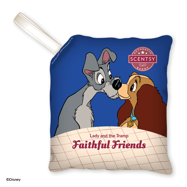 LADY THE TRAMP FAITHFUL FRIENDS SCENTSY SCENT PAK