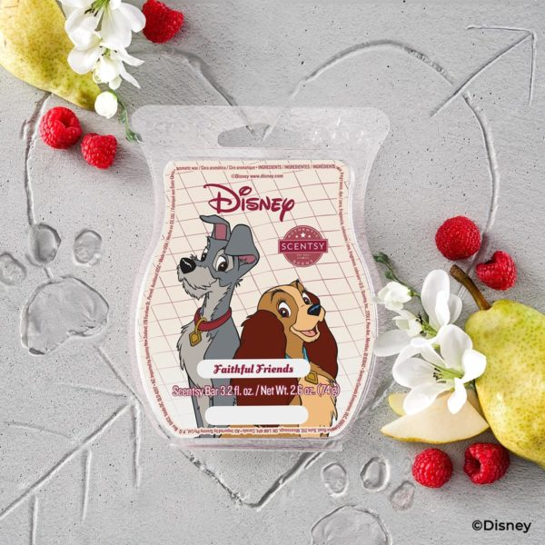 LADY THE TRAMP SCENTSY BAR   NEW! Lady & The Tramp Faithful Friends Scentsy Pak   Disney Lady & The Tramp Scentsy Collection