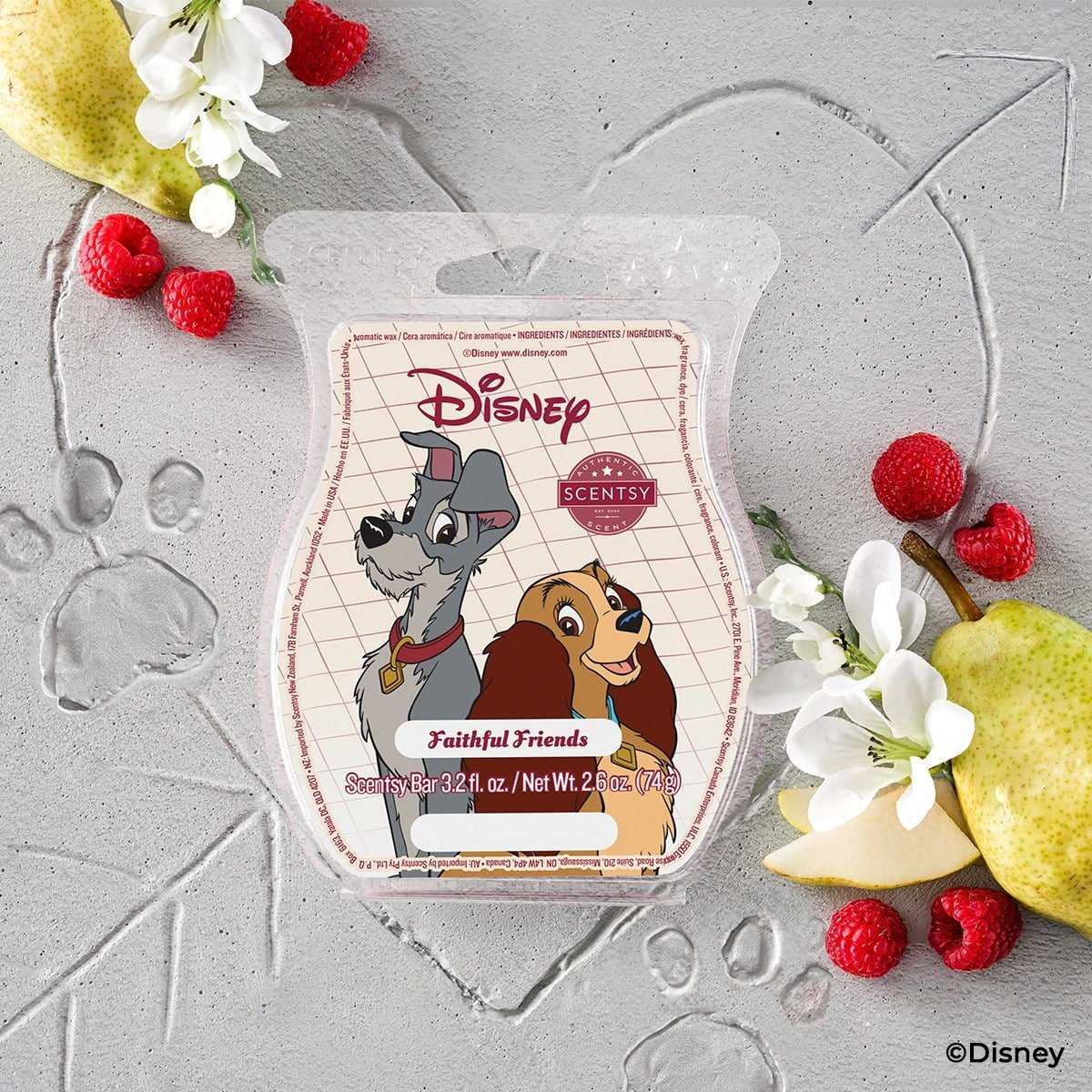 NEW! Disney Lady & The Tramp Scentsy Collection