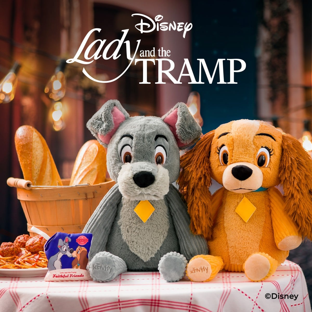 NEW! Disney Lady & The Tramp Scentsy Collection | Preorder Now