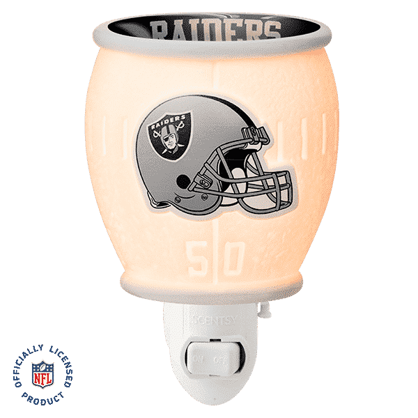 LAS VEGAS RAIDERS MINI SCENTSY WARMER