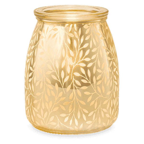 LAUREL SCENTSY WARMER GLOWING